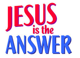 JESUSISTHEANSWER